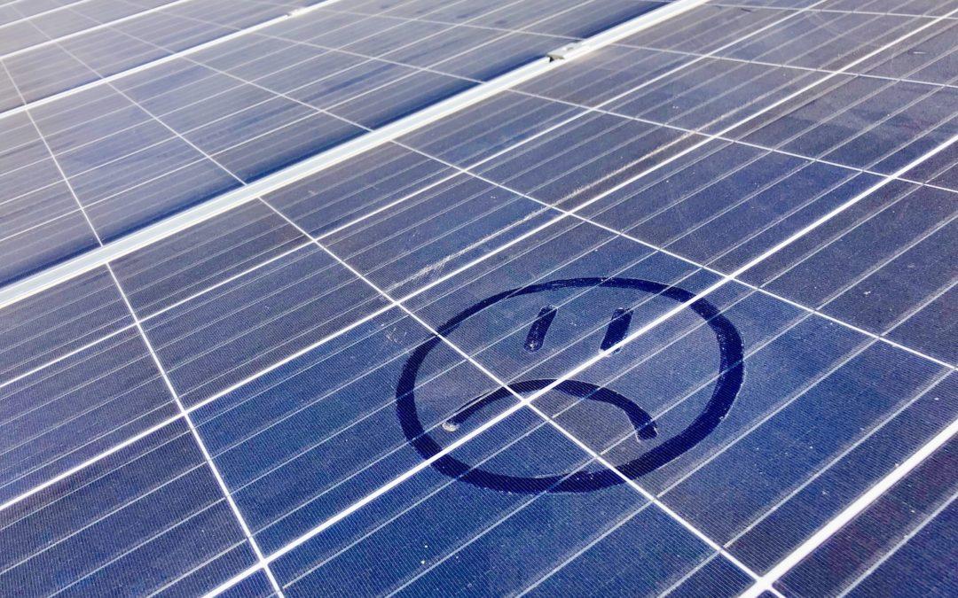 El polvo: enemigo silencioso de la energía solar