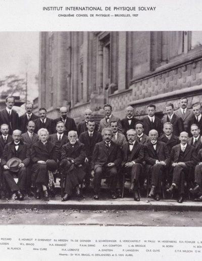 5º congreso de Física de Solvay 1927
